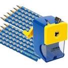 【德國LYRA】三角洞洞鉛筆超值組(洞洞鉛筆12入+削鉛筆機 )*加贈:筆筒+橡皮擦+筆削