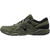 Mizuno Maximizer [K1GA210086] 男鞋 慢跑鞋 運動 休閒 一般型 寬楦 美津濃 軍綠 黑