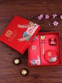 婚禮回禮盒喜糖盒手提套盒
