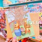 正版授權 迪士尼卡片 小熊維尼 小豬 跳跳虎 屹耳 大卡片 生日卡片 萬用卡片 卡片 COCOS DA030
