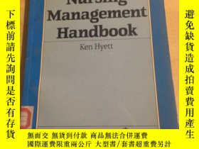 二手書博民逛書店Nursing罕見Management Handbook(館藏)