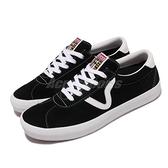 Vans Epoch Sport Pro 黑白 V Logo 基本款 麂皮 男女鞋 【ACS】 VN0A4UW4Y28