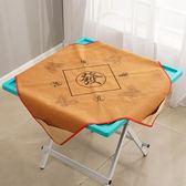 簡易麻將桌子可折疊家用簡約棋牌桌手動手搓麻將桌餐桌兩用麻將台 交換禮物