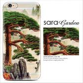 24H 客製 彩繪山景松樹iPhone 6 6S Plus 手機殼TPU 軟殼Sara G