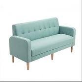 快速出貨 沙發小戶型雙人沙發北歐沙發簡約現代臥室服裝店沙發簡易布藝沙發 【雙十一狂歡】