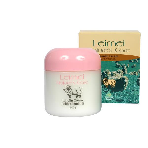 澳洲 Natures Care Leimei 羊毛脂維他命E滋潤霜 100g 綿羊霜 綿羊油【小紅帽美妝】