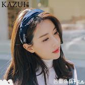 髮箍 髮窟頭箍韓版韓國寬邊簡約百搭壓髮卡髮箍女韓版頭飾甜美淑女成人 芭蕾朵朵