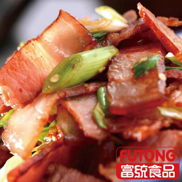 【富統食品】蔗香煙肉300g (生三層肉)