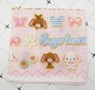 【震撼精品百貨】Sugarbunnies 蜜糖邦尼~三麗鷗蜜糖邦尼~紗布手帕-餅乾*89646