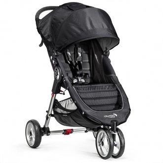 baby jogger city mini 單手秒收【Fold 經典版】-輕慢跑推車-黑色
