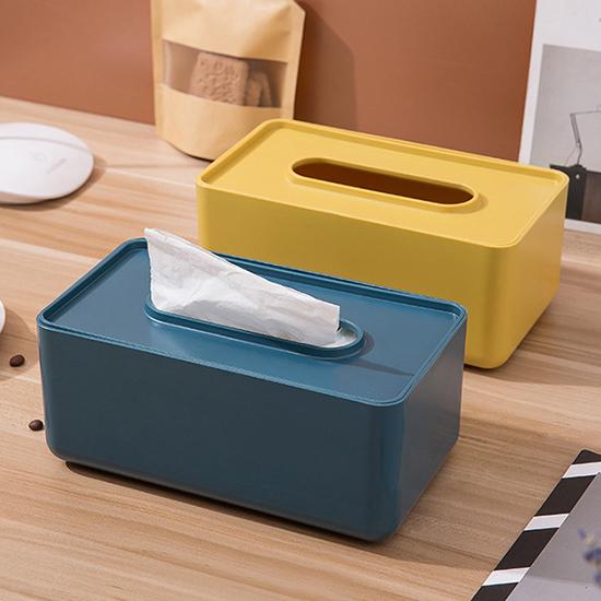 紙巾盒 抽取式 木蓋圓形 竹木蓋 收納盒 整理盒 北歐風 摩登簡約 面紙盒【A011-1】米菈生活館