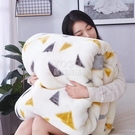 雙層加厚拉舍爾毛毯秋冬季婚慶被子床單蓋毯單人雙人珊瑚絨毛毯子