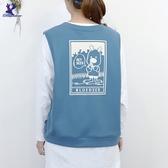 【秋冬新品】American Bluedeer - V領寬鬆外搭背心 二色