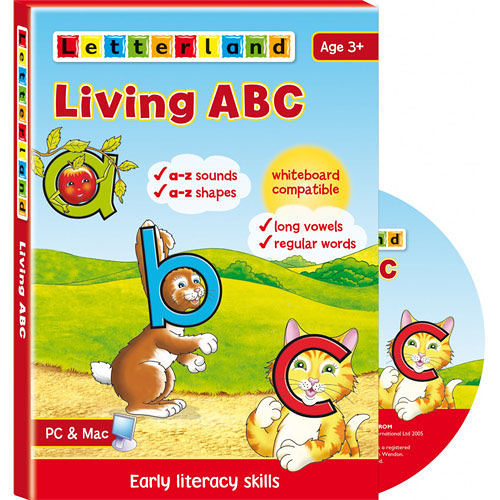 【Letterland】全方位字母拼讀互動光碟 Level 1 ─再加贈Once Upon A Time in Letterland(DVD)
