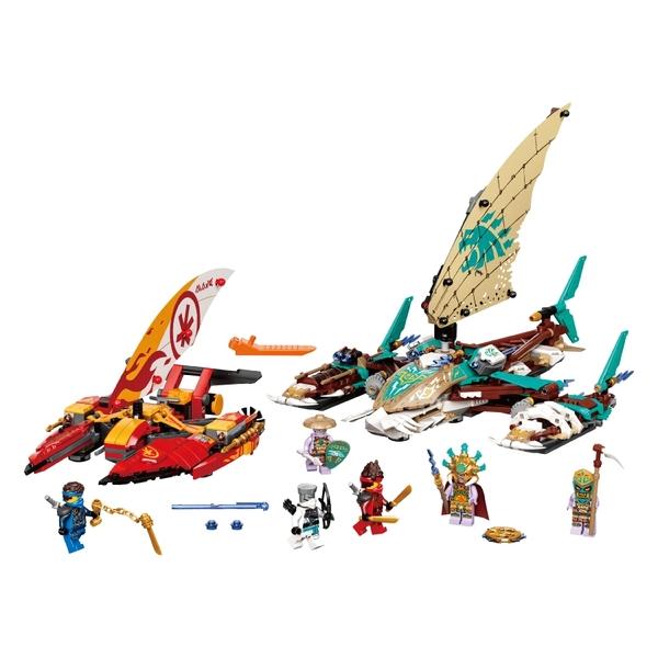 LEGO樂高 71748 雙體船海上大戰