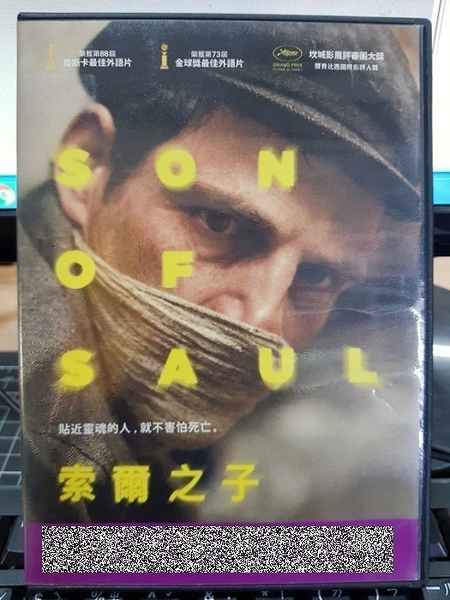 挖寶二手片-Z25-015-正版DVD-電影【索爾之子/Son of Saul】-奧斯卡最佳外語片(直購價)