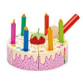 【美國Tender Leaf Toys】彩虹蛋糕切切樂(食材家家酒-蛋糕配件)