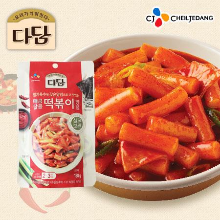 韓國 CJ 韓式辣炒年糕調味醬 150g 辣炒年糕 辣炒年糕醬 年糕醬 韓式 調味 炒年糕辣椒醬 調味醬