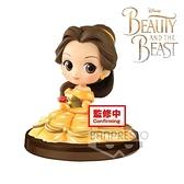 【SAS】日本 BANDAI Qposket petit - Girls Festival vol.2 迪士尼公主系列 美女與野獸 貝兒 小公仔模型 6cm