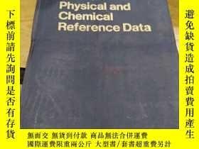 二手書博民逛書店Journal罕見of Physical and Chemical Reference Data 物理與化學參考數