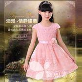 女童連身裙夏2018新款韓版8公主9童裝11歲春秋兒童中大童女孩衣服