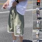 過膝籃球短褲男潮牌休閒寬鬆ins五分褲潮流男士中褲港風褲子夏季 艾瑞斯