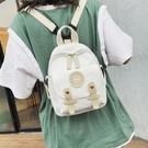 書包少女2021新款韓版休閒包包時尚氣質可愛小包包潮帆布雙肩揹包 父親節特惠