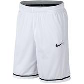 Nike 男Dry Fit 運動籃球短褲(白色)