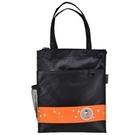 學生 手提袋 [Caution可欣] 10321 螢火蟲系列之直式手提袋--黑/橘