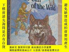 二手書博民逛書店The罕見call of the wild (illustrat