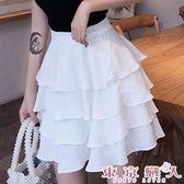 短裙 韓版半身短款多層次蛋糕裙★東京戀人MS.Q★7269