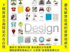 二手書博民逛書店原版DESIGN罕見The Definitive Visual