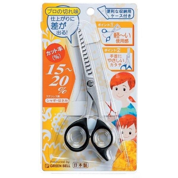 【日本製】【GREEN BELL】日本製 不鏽鋼 打薄剪刀 G-5012 SD-22089 -