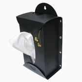 3入-台灣製-掛牆直立式-面紙盒 衛生紙盒(黑/水藍/粉紅色)NB-20-3