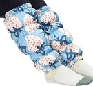 Nishikawa【日本代購】西川 羽絨 暖腿套 Mantano Thermo白鴨絨-草莓藍色
