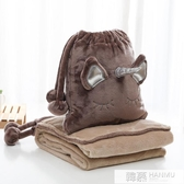小毛毯單人午睡被子夏天沙發毯空調蓋毯珊瑚絨小毯子辦公室午休毯 韓慕精品
