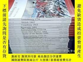 二手書博民逛書店OSPREYX系列23冊合售:CAMPAIGN(26.54.66