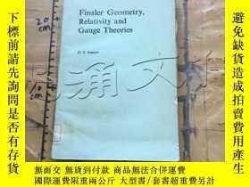 二手書博民逛書店Finsler罕見Geometry, Relativity an