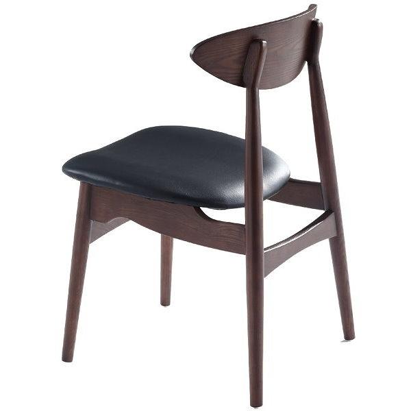 餐椅 PK-597-16 胡桃餐椅(皮墊)【大眾家居舘】
