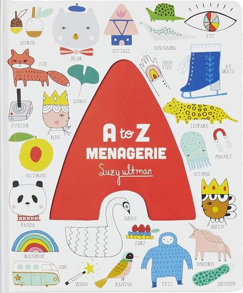 A To Z Menagerie 英文字母操作書