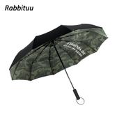 雨傘男個性創意潮流全自動折疊雨傘女雙層大號加固防風晴雨兩用傘