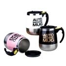 Qmishop 磁化無軸攪拌杯自動咖啡杯 水壺 水杯 450ML【QJ2433】