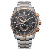 CITIZEN 經典紳士電波光動能腕錶CB5886-58H