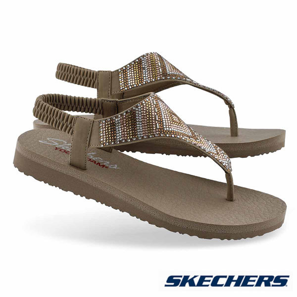 SKECHERS MEDITATION GYSPY GLAM 涼鞋 - 31769TPMT