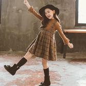 女童秋裙長袖兒童連衣裙秋裝2018新款秋冬裙子小女孩超洋氣公主裙