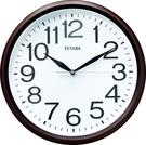 12吋立體凸字靜音時鐘