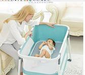 遊戲床 valdera瓦德拉嬰兒床多功能新生兒童床可折疊歐式便攜式搖床bb床 JD【小天使】