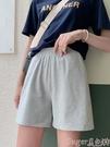 五分褲 運動短褲女夏寬鬆2021新款高腰夏季薄款居家休閒跑步外穿五分睡褲  【618 大促】