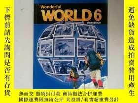 二手書博民逛書店Wonderful罕見WORLD 6 附盤Y254853 Wonderful Wonderful