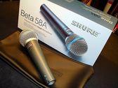 【金聲樂器】全新 SHURE BETA 58A   動圈式人聲收音麥克風 (內附雷射防偽標籤公司貨!)
